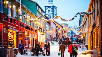 Christmas shopping in Røros