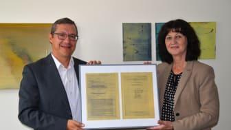 Seit 100 Jahren elektrifiziert: Der Marktheidenfelder Ortsteil Glasofen und das Bayernwerk feiern ein Jubiläum