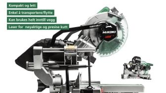 HiKOKI kapp-/gjærsag C8FSHG 216 mm 1100W (68100915)