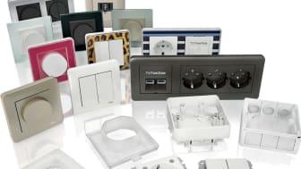 Schneider Electric esittelee tyylikkäitä sähköasennuskalusteita ja älykkäitä KNX-ratkaisuja Raksa 2014  -messuilla Lahdessa