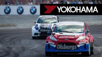 Yokohama officiell däckleverantör till Rallycross Supercar Scandinavia