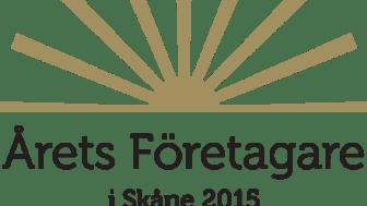 Årets företagare i Skåne 2015
