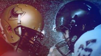 Bilden är symbolisk och speglar inte lagen som möts i Super Bowl
