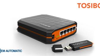 OEM Automatic ingår partnerskap med Tosibox