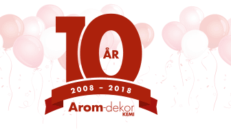 Arom-dekor Kemi firar 10 år!