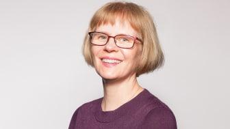 Linda Avatare, ny ansvarig för arbetsmiljöområdet inom Svevia. Foto: Michael Åström