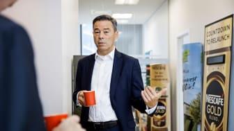 Torben Emborg hedder Nestlés nye chef for Norden. Han ser frem til at give danskerne bæredygtige fødevarer, der både er lokale og globale. (Foto: Søren Svendsen)