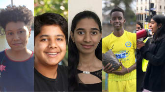 Finalisterna i Children's Climate Prize 2021
