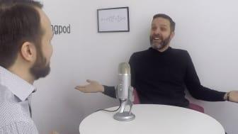 Pontus Ströbaek i ett ovanligt rättframt och underhållande samtal med Mattias Ribbing