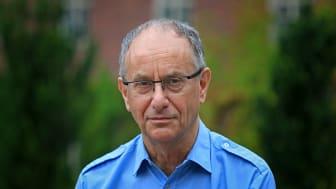 Bo Schenkman, docent verksam på avdelningen Tal, musik och hörsel vid KTH. Foto: Peter Ardell.