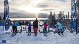 Skicross i Lofsdalen
