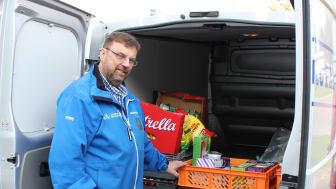 Lars Wennman årets miljöhjälte för sitt arbete med att minska matsvinnet