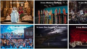 Sex Metropolitan-operor på bio i Lindesberg kommande säsong