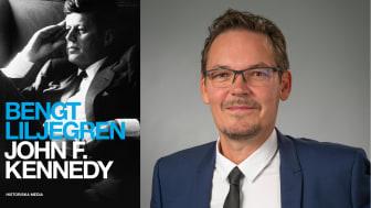 Nya sidor av John F. Kennedy kommer fram i svensk biografi