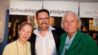 v.l.n.r.: Die Preisträger Anita Albus, André Hartmann und Ingo Maurer (Foto: Elisabeth Greil)