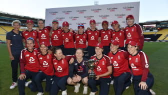 England Women won by 32 runs. Photo: Getty Images
