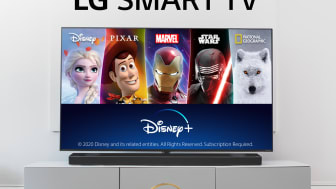 Enjoy Disney on LG
