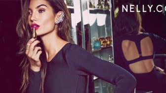 Nelly.com lanserar NLY Icons med supermodellen Lily Aldridge