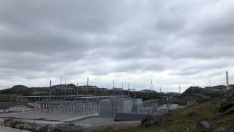 Illustrasjonsbilde: Rammeavtalen med Statnett innebærer blant annet bygging av nye transformatorstasjoner, som denne i Bjerkreim. Foto: Multiconsult