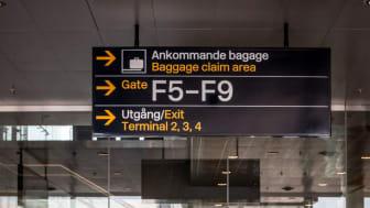 Stockholm Arlanda Airport. Photo: Stina Sandsjö.