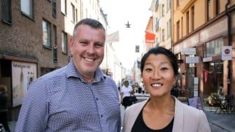 Andreas Massarsch och Linda Ahrgren Assently