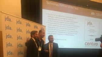 Centiro utsedda till Best Technology Partner under JDA Focus Connect 2017
