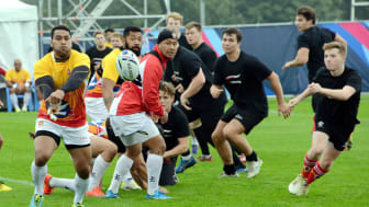 Northumbria students invited to train with Rugby World Cup team!