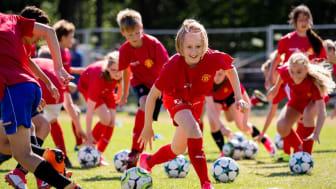 Manchester United Soccer School kommer till Sandvikens IF