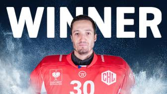 Šimon Hrubec utsedd till MVP i CHL