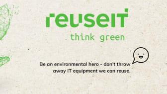 Bli en miljöhjälte du också – köp eller sälj IT-produkter med ReuseIT!