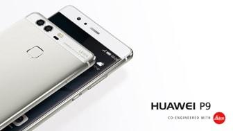 Huawei P9 – nya flaggskeppstelefonen med banbrytande fotoegenskaper