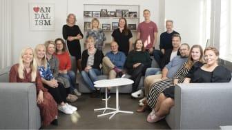 Leidenschaftin tiimi arvostaa arjessa vahvaa yhteisön tukea ja jatkuvaa oppimista. Kuva: Sini Suomi