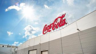 Samarbete leder till ytterligare steg mot netto noll för Coca-Cola i Sverige