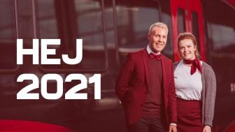 Vi ser tillbaka på 2020 års ljusglimtar! I bild: Martin och Märtha, servicevärdar på MTRX.