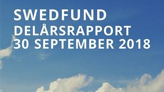 Swedfund delårsrapport juli - september 2018