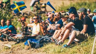 Skön stämning på Åre Bike Festival