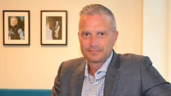 Jimmy Ljungberg, affärsutvecklare på Nokas Security.