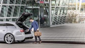 Audi on demand i München lufthavn