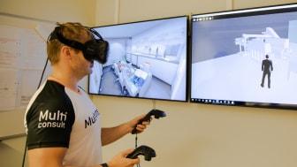 Multiconsult på Stord har hatt svært positive erfaringer med bruk av VR i prosjekteringen.