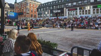 Boule-SM var ett av de evenemang som genomfördes i Linköping i somras och som bidrog till ökningen av gästnätter.