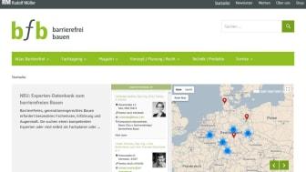bfb Experten-Datenbank zum barrierefreien Bauen bringt Architekten, Fachplaner, Sachverständige und Bauherren zusammen