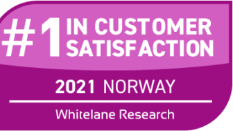 TCS er nok en gang best på kundetilfredshet blant bedrifter i Norge