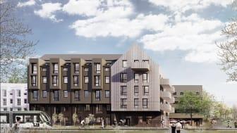 Krook & Tjäder har ritat Resonas projekt på Brunnshög i Lund