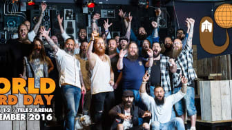 Över 1000 skägg samlas i Stockholm för att fira World Beard Day! Foto: Jessica Wikström