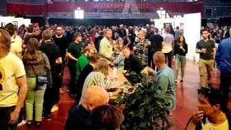 Hela 2448 besökare kom till Nolia Beer i Luleå.