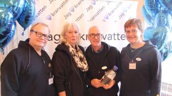 Karlstad finalister i Kranvattentävlingen 2015