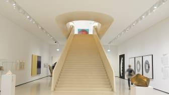 Frankfurt/Main: Städel Museum, stairs / ©GNTB / F: Deutsche Zentrale für Tourismus e.V.