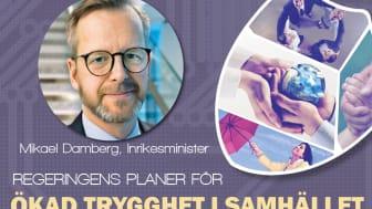 Inrikesministern talar på Trygg och Säker i Malmö
