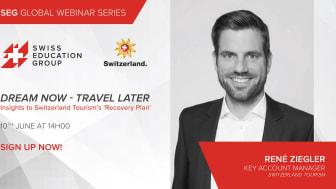 René Ziegler Key Account Manager på Switzerland Tourism