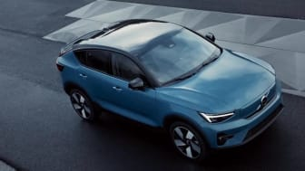 Volvo C40 Recharge Static footage